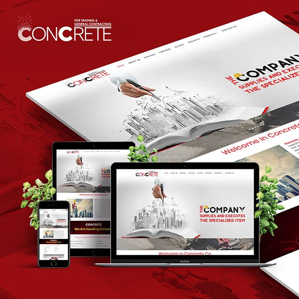 Concrete Website